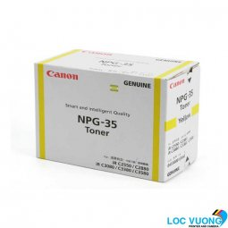Mực Photocopy Canon NPG-35 Yellow Toner